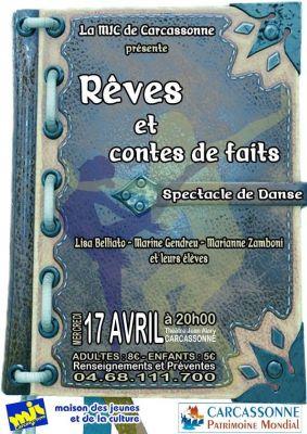 Spectacle de danse Modern Jazz ce mercredi 17 avril à 20h au Théâtre Jean Alary !