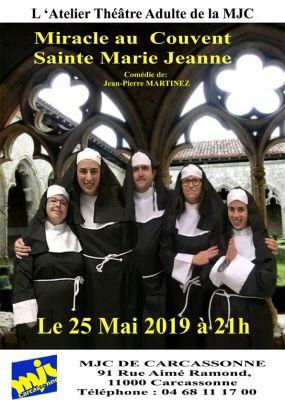 Ne ratez pas la représentation de l'atelier théâtre adulte de la MJC, samedi 25 mai 2019 à 21h !