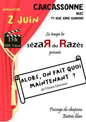A découvrir dimanche 2 juin à 15h à la MJC de Carcassonne.